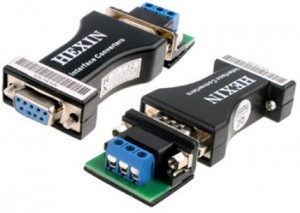 Passive RS-232 to RS-485 Converter